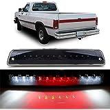 LED 3rd Brake Light Carge Light High Mount Brake Light for 1994-2001 Dodge Ram 1500 2500 3500 Smoke Lens LED Light