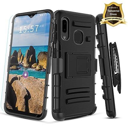 Amazon.com: IRUNME - Carcasa para Samsung Galaxy A20 y ...