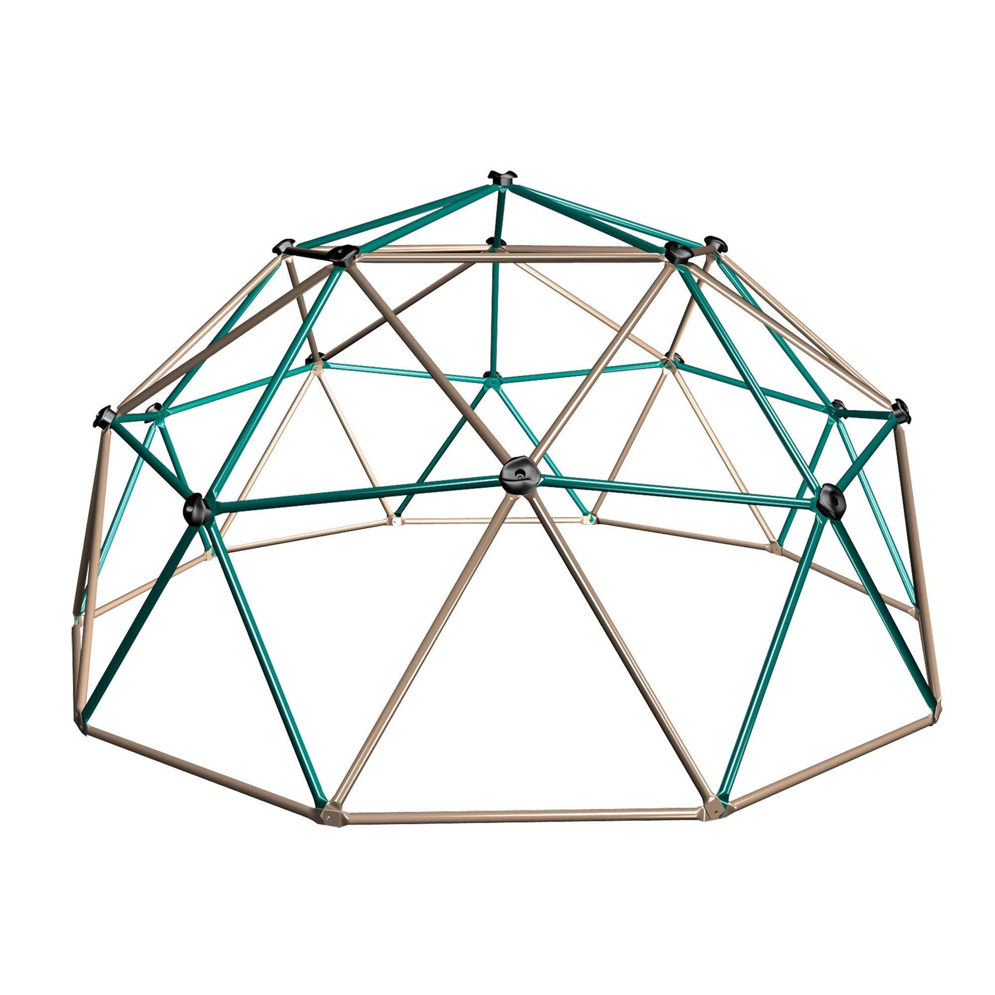 Lifetime Geometric Dome Climber Play Center, Earthtone (Renewed) by Lifetime
