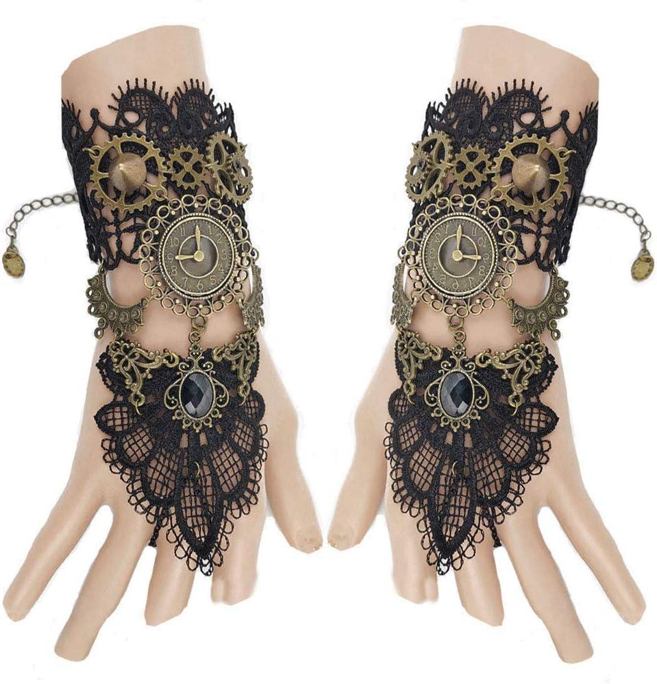 guantes steampunk