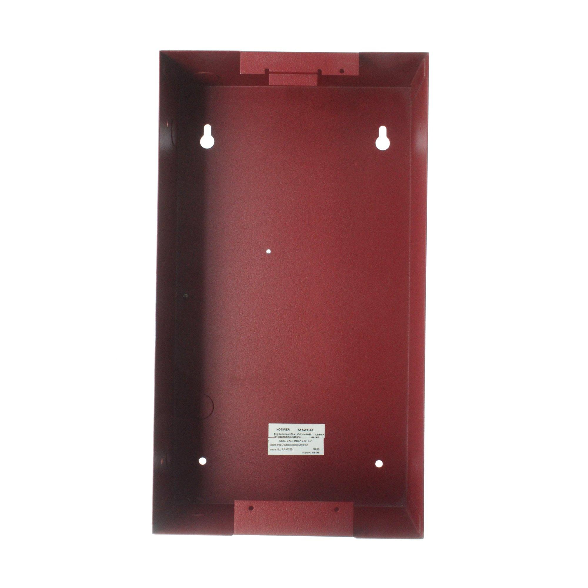 Notifier AFAWS-BX Flush Mount Telephone Back Box Alarm Accessory