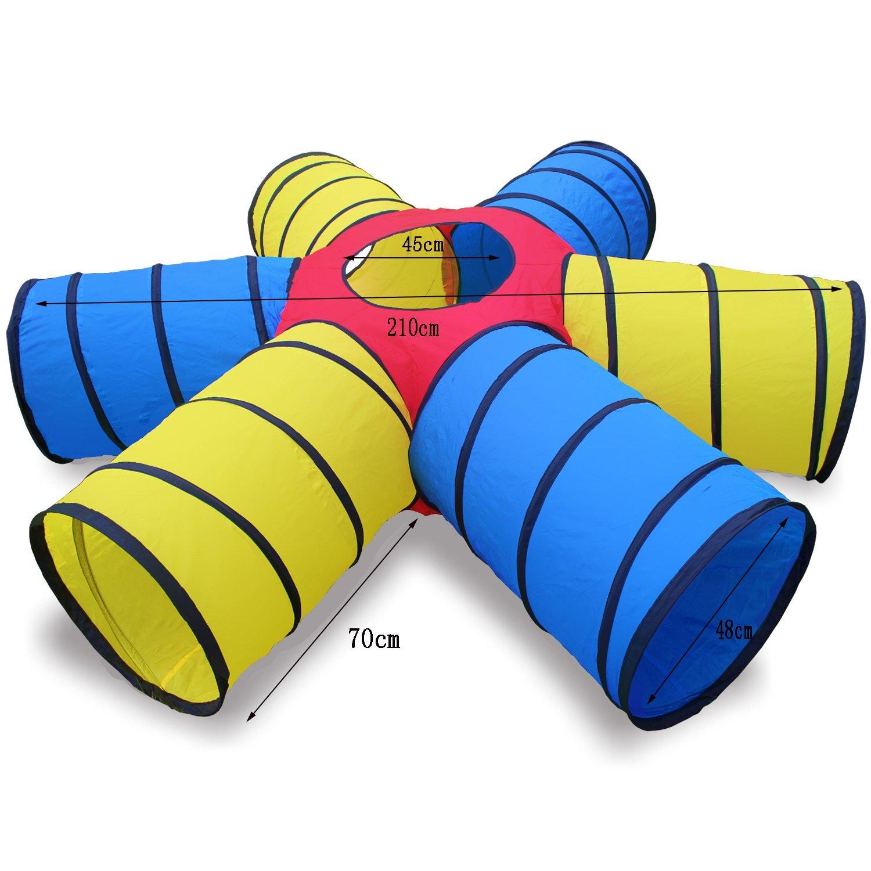 NAUY- Kind Erwachsener Sonnenkanal Crawling Tube Sinn für Training Spielzeug Spiele für Kinder Spiele für Kinder