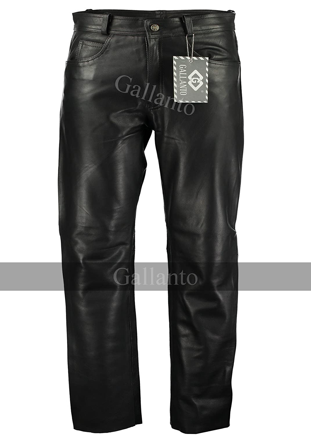 Leather Men's Classic Fitted Motorcycle Leather Trouser Thrix Leather