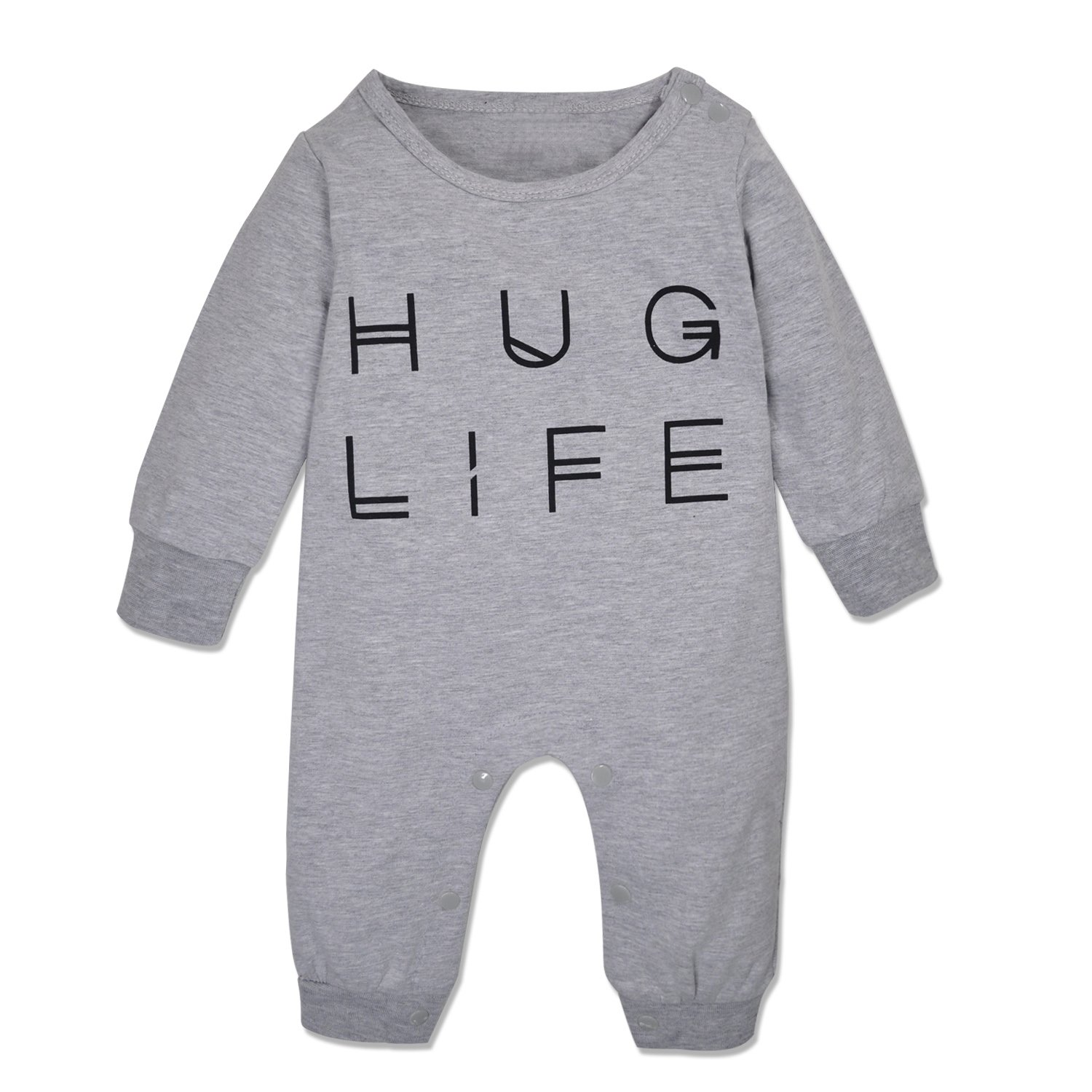 Minilove Boys Girls Embroidery Long Sleeve Striped Clothing Set