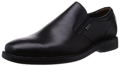 993d85022c Amazon.com | Geox Men's Brayden 2 Fit ABX 5 Oxford, Black, 39 EU/6 M ...