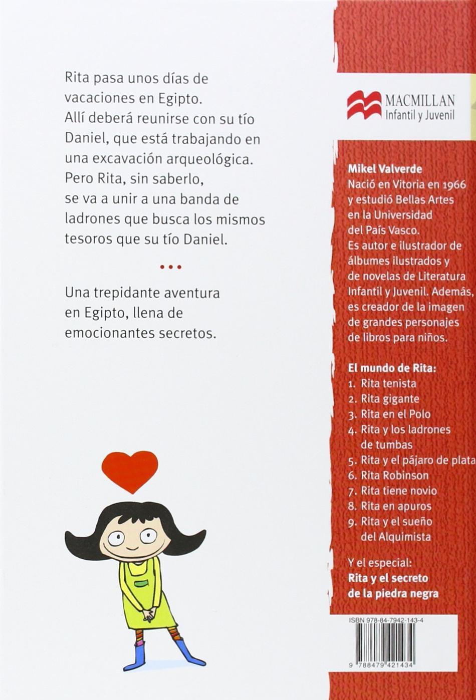 Rita y los ladrones de tumbas (El Mundo de Rita) (Spanish Edition): Mikel Valverde: 9788479421434: Amazon.com: Books