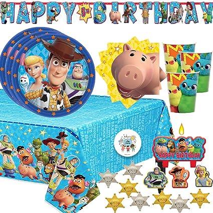 Amazon.com: Toy Story - Paquete de 4 suministros para ...