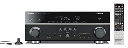 amazon com yamaha rx v867bl 7 2 channel home theater receiver rh amazon com  yamaha receiver rx-v867 manual