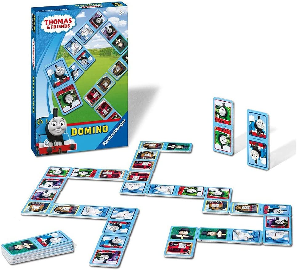 Thomas y sus Amigos - Niños Juego del Dominó - 28 Tarjetas - Thomas & Friends: Amazon.es: Juguetes y juegos