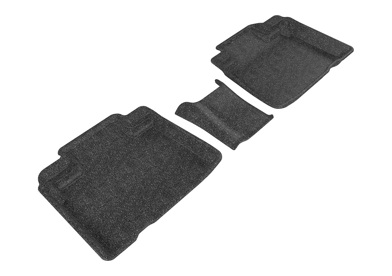3D MAXpider Tan Ford Edge 2015-2016 Classic Carpet 2 Rows L1FR09302202