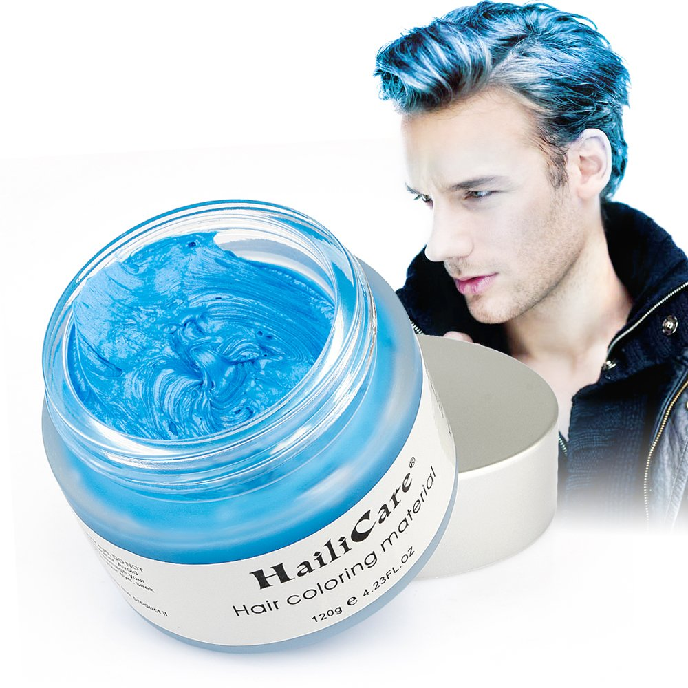 Amazon.com : Hair Color Styler Wax 90ml Silver Ash Haircolor Wax : Beauty