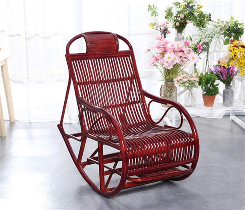 ZXH Folding Recliner Alter Mann Freizeit Stuhl Home Balkon Multifunktions-Solid Wood Nap Chair
