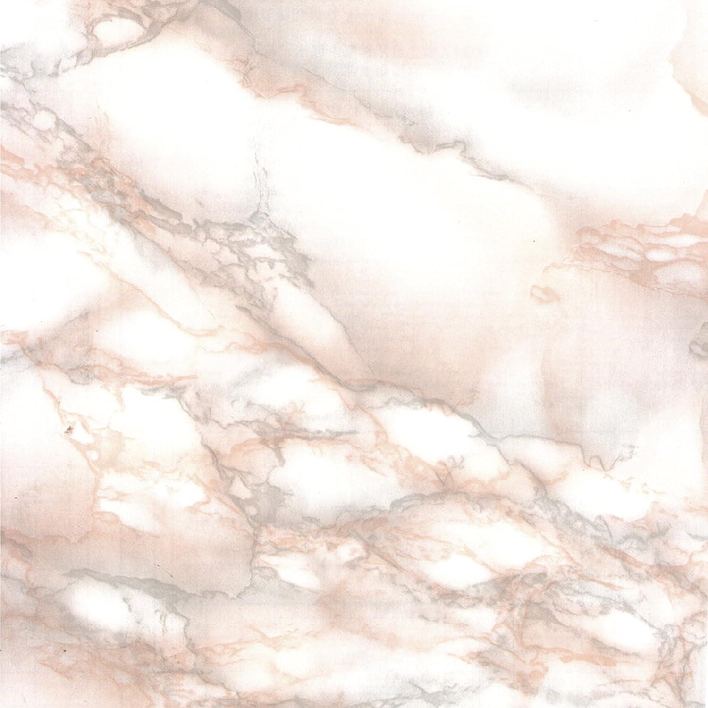 Venilia Klebefolie Marmor 45 cm x 200 cm Adhesiva Mármol Muebles, Decorativa, lámina autoadhesiva, sin ftalatos, Rosa, 2m, Grosor: 0,095 mm, 53360, PVC, 45 cm x 2 m