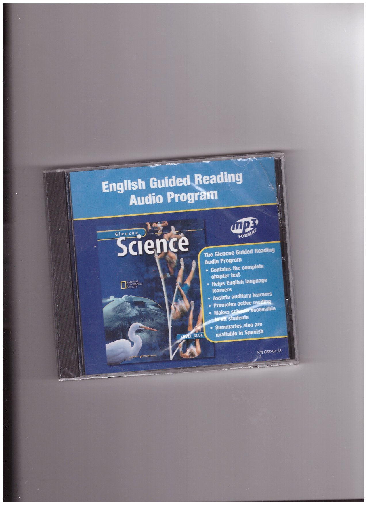 Glencoe Science: Level Blue, Guided Reading Audio Program, English pdf