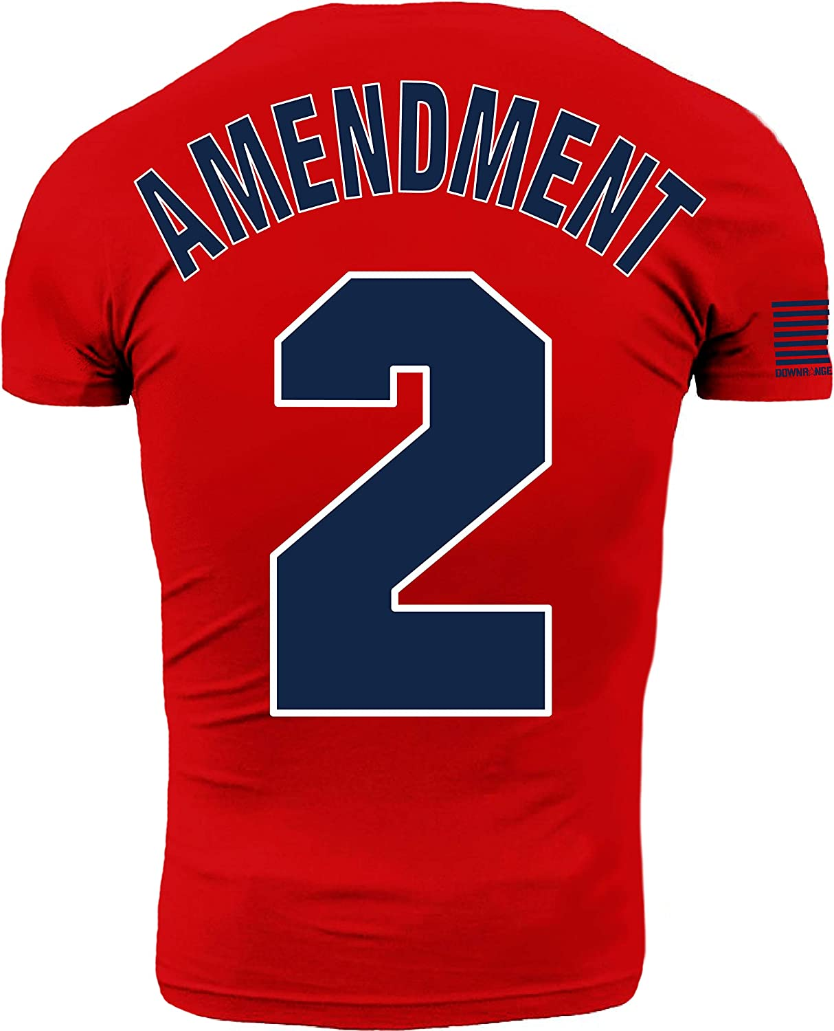 Boston Red Second Amendment 2A Americans Premium Athletic Fit T Shirt
