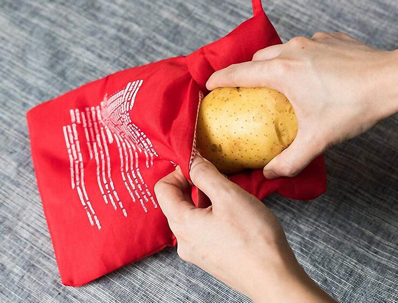 Always Fresh Kitchen Cook Tatoes Bolsa para Patatas En Microondas ...