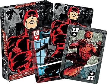 Juego de cartas de Daredevil (Marvel), con temática de cómic ...