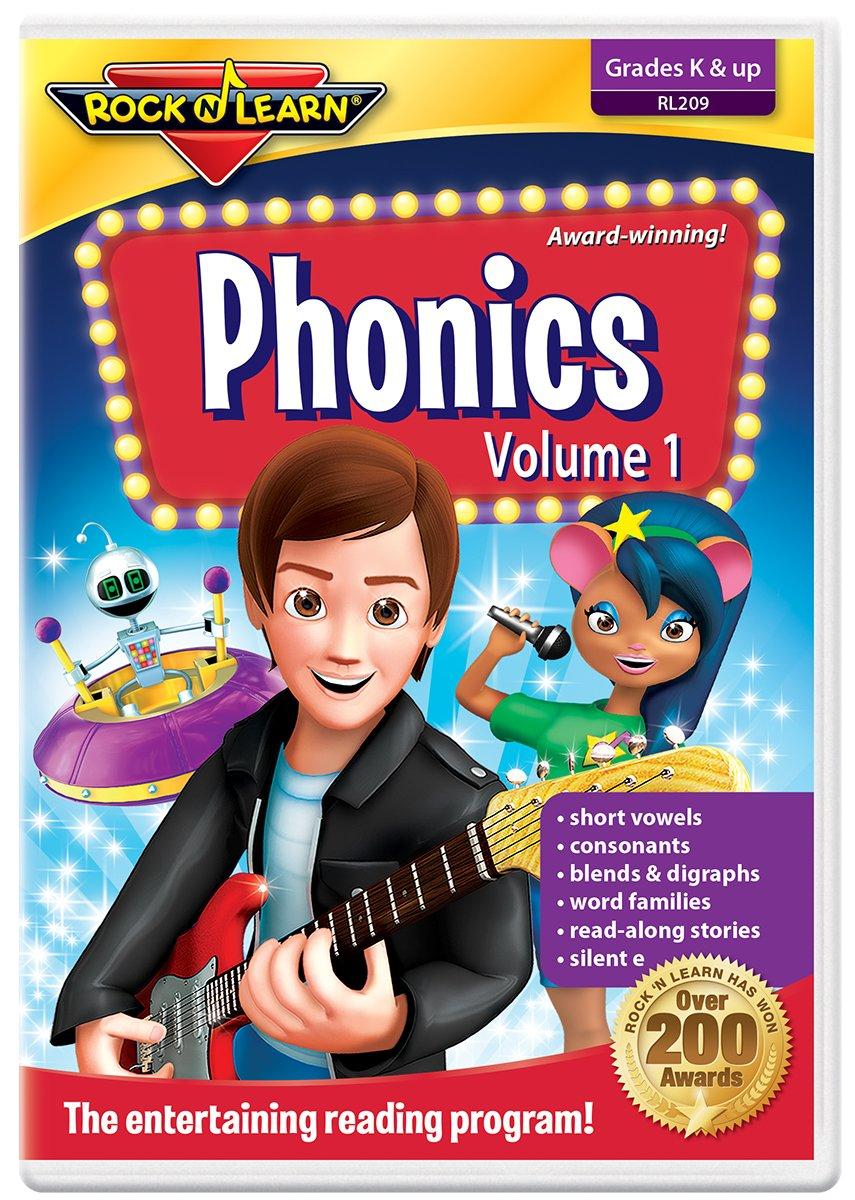 Phonics Volume 1 DVD by Rock 'N Learn