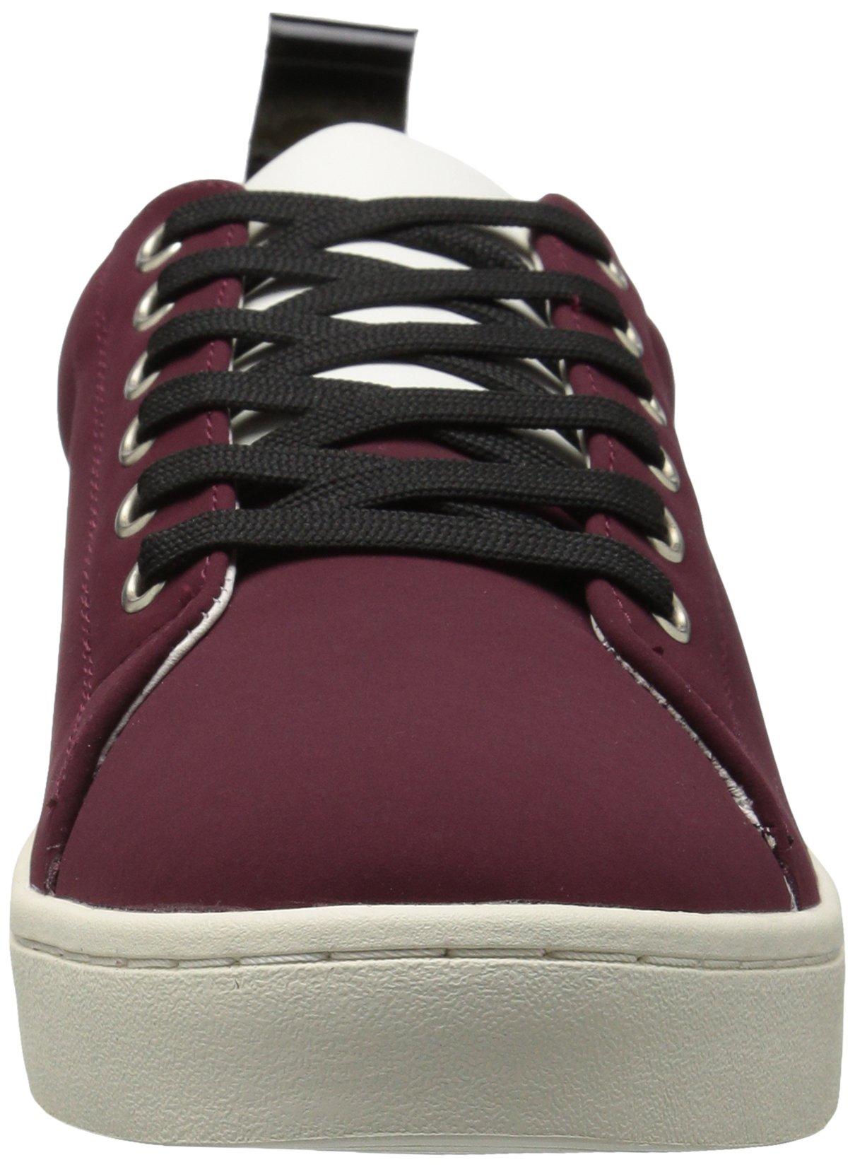 FLY London Women's MACO833FLY Sneaker, Bordeaux/Black Nubuck/Patent, 37 M EU (6.5-7 US) by FLY London (Image #4)