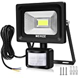 MK Security Lights with Motion Sensor 20W, Dimmable LED PIR Floodlights, 2000lm LED Sensor Outdoor Light, IP66 Waterproof Outdoor Flood Light, 150W Halogen Lights Equivalent Replacement Daylight White