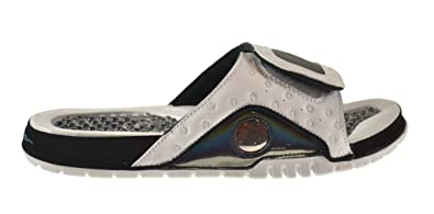 972328508a7 Jordan Hydro XIII Retro Men's Slides White/Tropical Teal-Black 684915-108 (