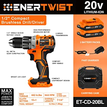 ENERTWIST ET-CD-20BL featured image 2