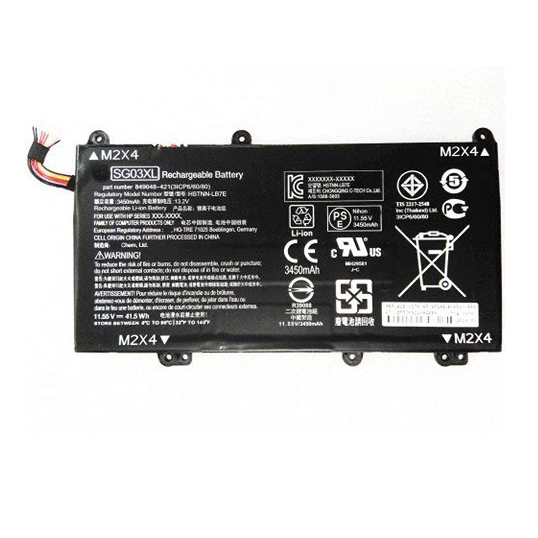 Dentsing Compatible/Replacement Laptop Battery for HP SG03XL Envy 849314-856 m7-u109dx w2k88ua 41.5Wh