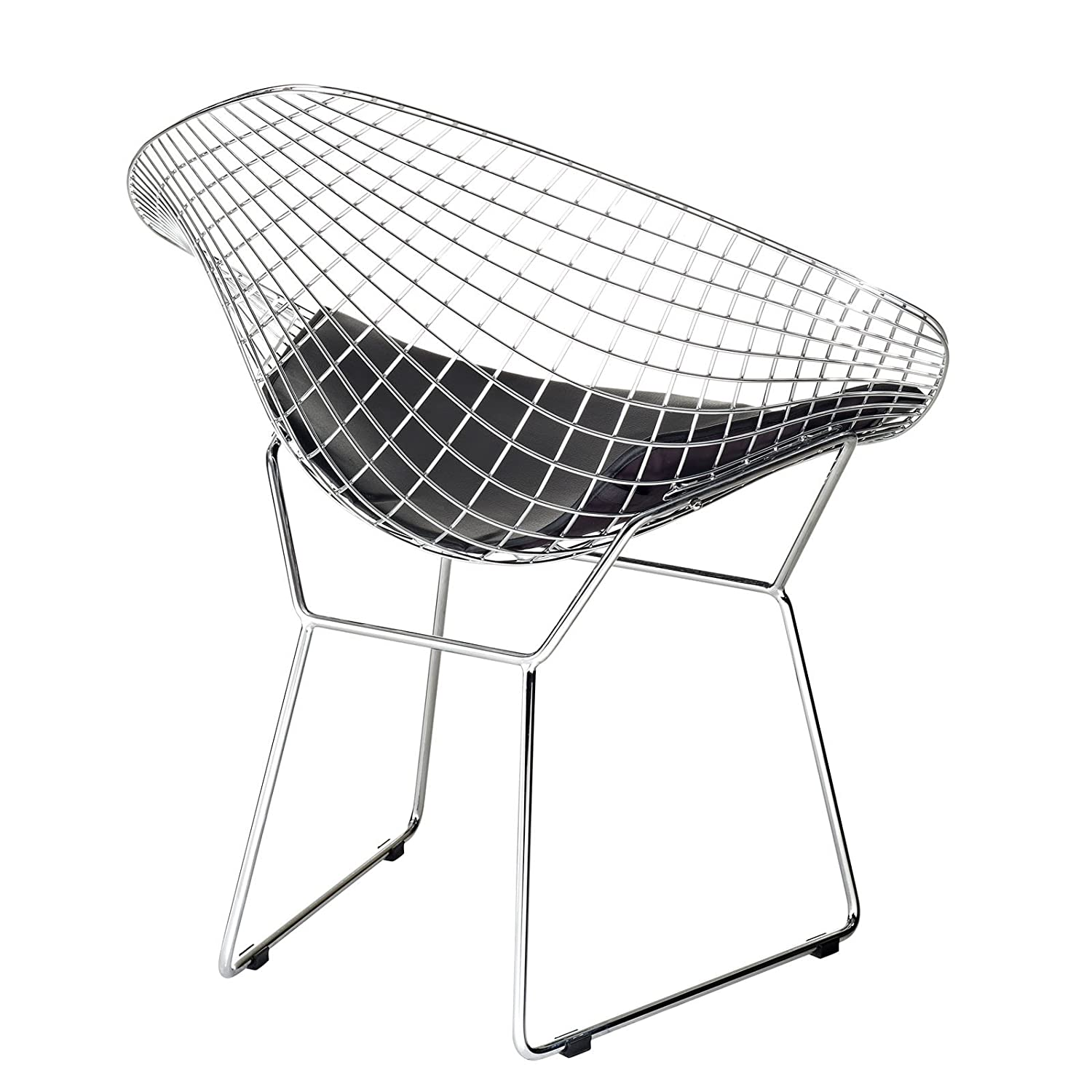 Bertoia diamond chair black - Bertoia Diamond Chair Black 11