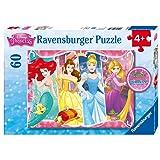 Ravensburger - Disney Princess Heartsong Puzzle (60 pc Glitter