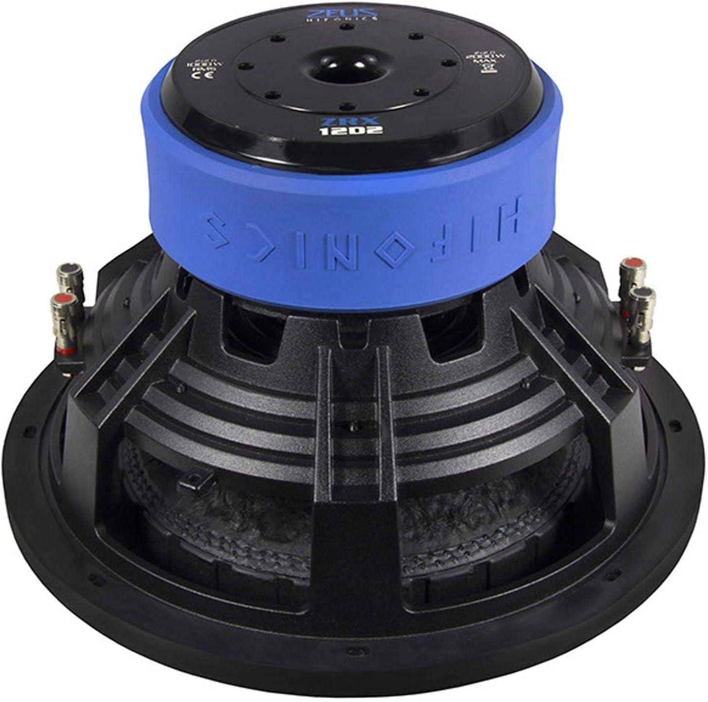 Hifonics Zrx 12d2 Auto Subwoofer Passiv 2000w Navigation