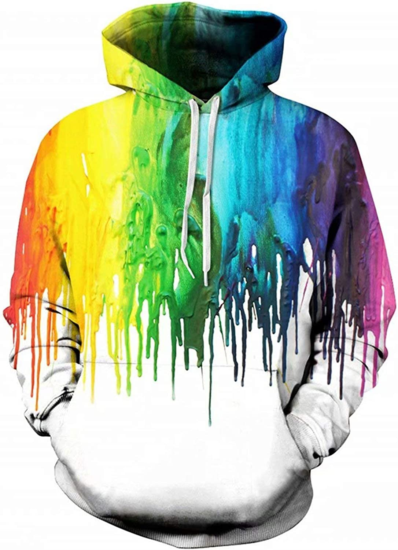 3D Men/'s Autumn Unisex Originality Funny Sweatshirt Casual Hoodie Pullover Tops