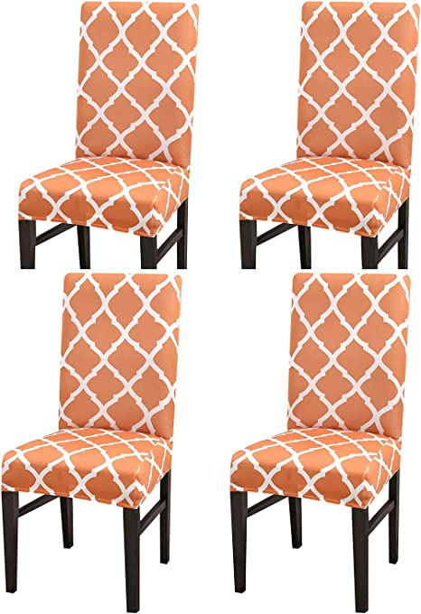 Stretch Dining Chair Covers Slipcovers Removable Banquet Protective Cover USA