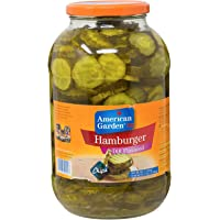 American Garden Hamburger Cucumber Slices Dill Flavored - 1.93 kg