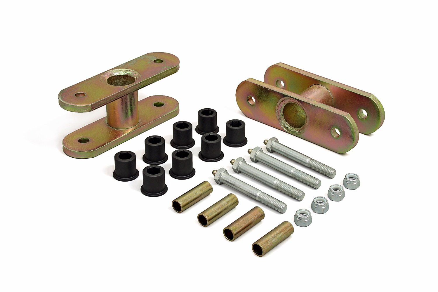 Daystar, Jeep CJ 1½'' Front Or Rear Lift Greasable Shackle, fits 1946 to 1975 2/4WD, KJ61002BK, Made in America by Daystar
