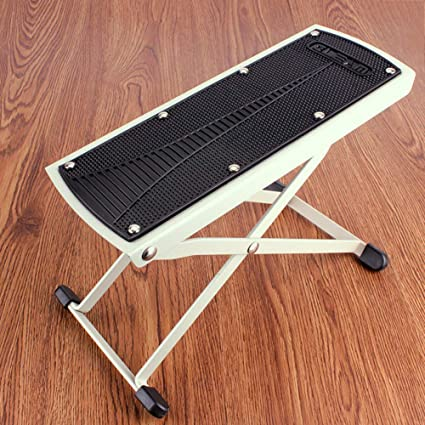 Amazing Amazon Com Qtkk Guitar Foot Stool Height Adjustable Guitar Ocoug Best Dining Table And Chair Ideas Images Ocougorg