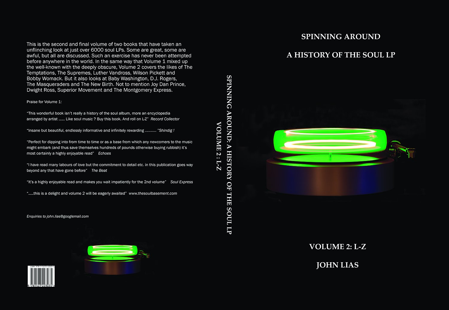 Spinning Around: A History Of The Soul LP Volume 2 L - Z: Amazon ...