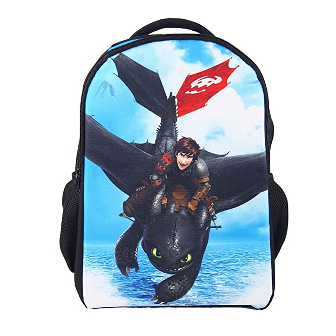 Amazon.com: Cómo entrenar a tu dragón mochila Hiccup cosplay ...