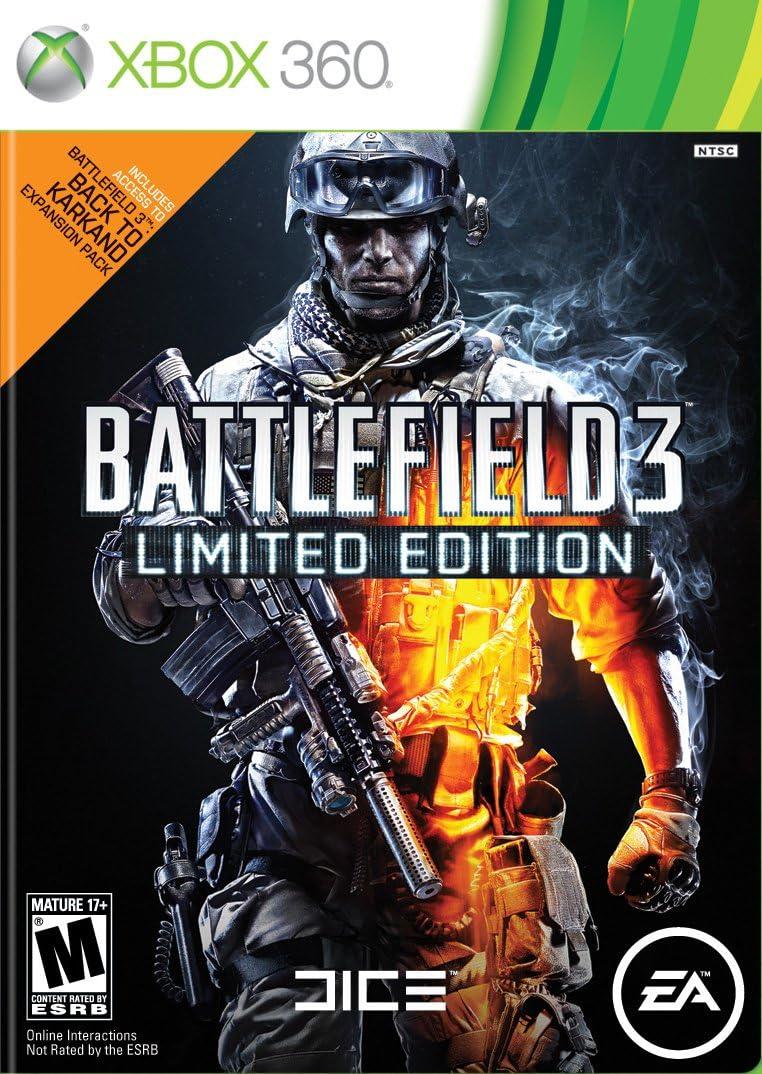 Amazon com: Battlefield 3 - Limited Edition - Xbox 360