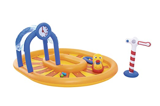 Piscina Hinchable Infantil Bestway Little Caboose 285x224x119 cm.