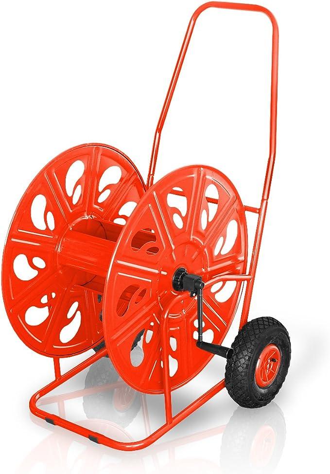 mit Handkurbel 311 Metall Schlauchwagen Mod für 80m 1//2 oder 50m 3//4 Zoll