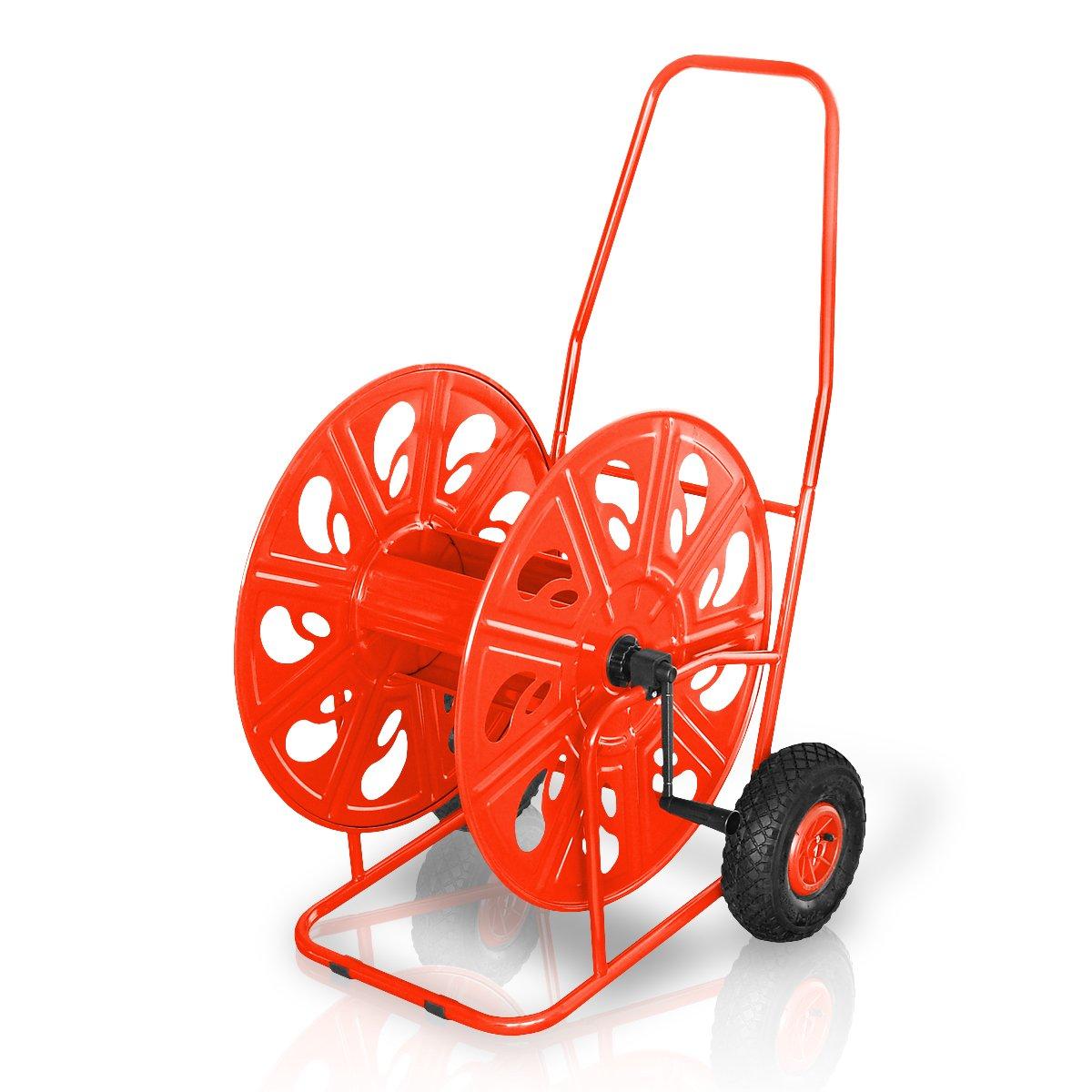 Profi- Schlauchwagen für max. 100m 1 oder 140m 3/4 mit Luftbereifung, Schlauchtrommel