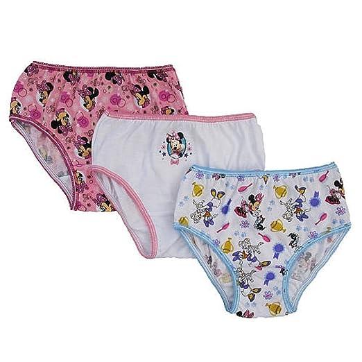 3cf1108196 Amazon.com  Disney Baby Girls 3 Pack Minnie Mouse Underwear ...