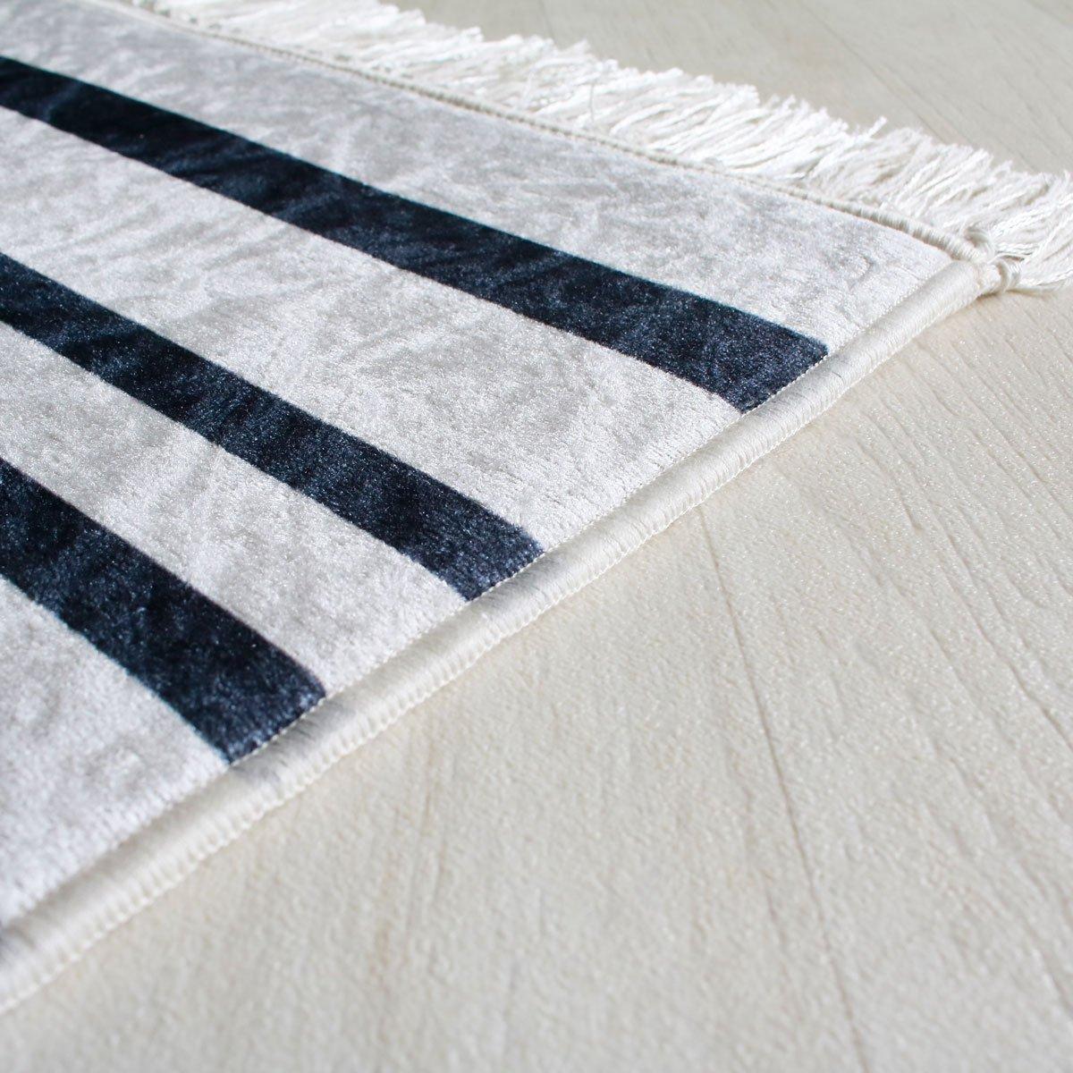 Noir 80 x 300 cm mynes Home Tapis de Couloir Lavable Noir et Blanc Modern Designer Design Boheme Boho Style antid/érapante Convient pour Cuisine//Salle de Bain//Salon//Couloir