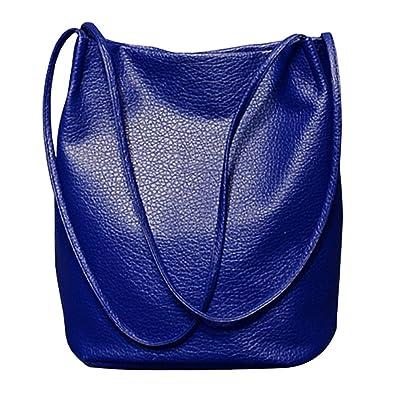 0ed1176482d9b Ichic Boutique Eimer Tasche Damen Handtasche Leder Schultertasche  Umhängetaschen Beutel