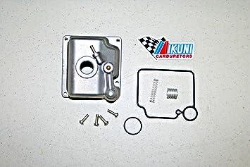 Genuine Mikuni hsr42 hsr45 9 piezas carburador flotador cuenco de repuesto: Amazon.es: Coche y moto