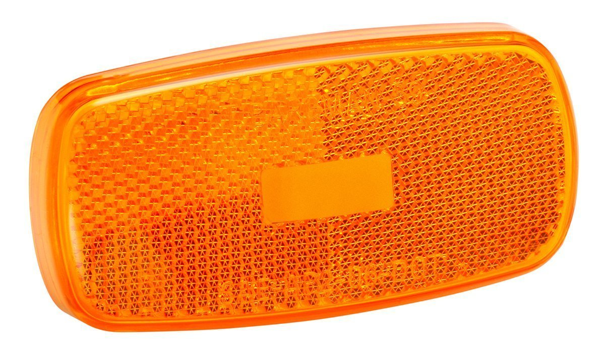 Bargman 34-59-012 #59 Series Amber Clearance Light Replacement Lens (Quantity 4)