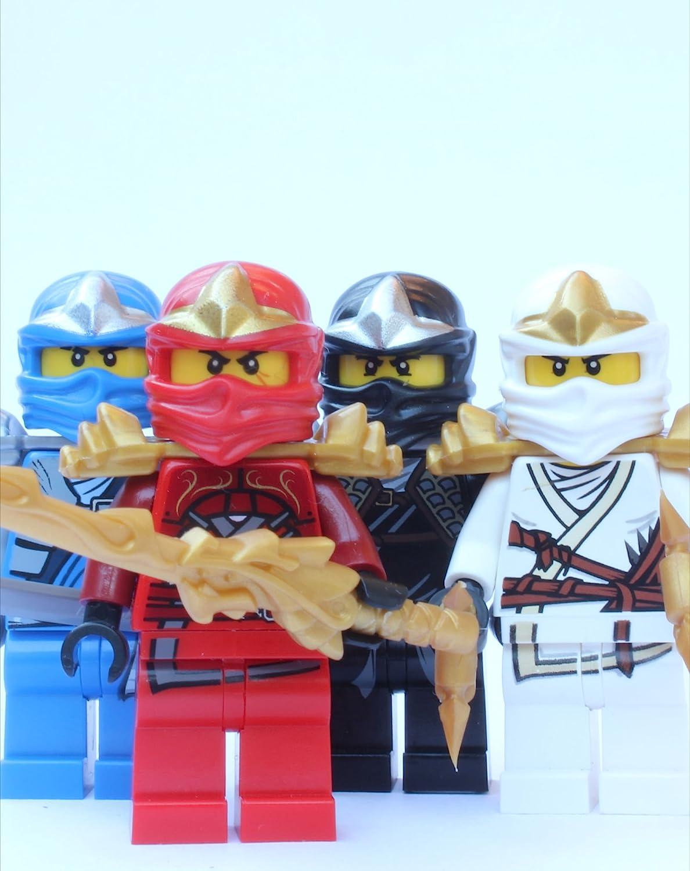 LEGO® Ninjago™ 25 ZX Ninjas   Kai, Cole, Jay & Zane ZX