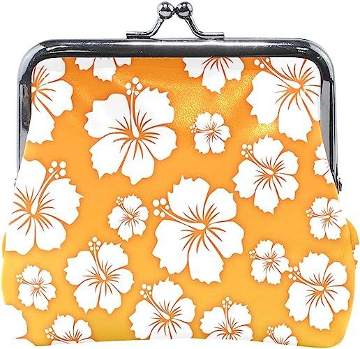 LALATOP Flowers Background Womens Coin Pouch Purse wallet Card Holder Clutch Handbag