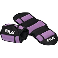 FILA 05-61918 Adjustable Ankle Weights, 5 LB