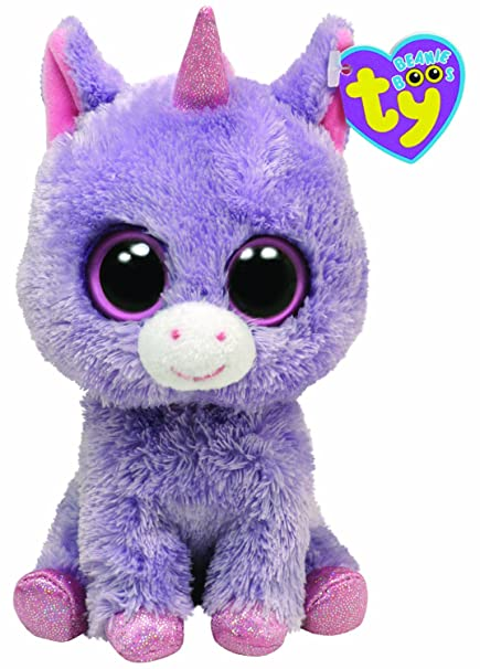 b7e9bca6bf7 Image Unavailable. Image not available for. Color  Ty Beanie Boos Rainbow -  Unicorn